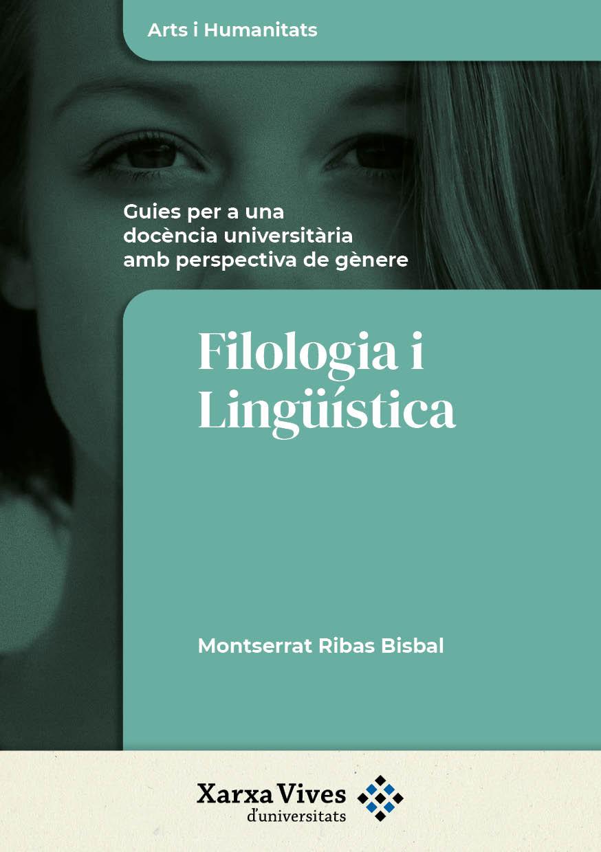 Book Cover: Filologia i Lingüística: guies per a una docència universitària amb perspectiva de gènere