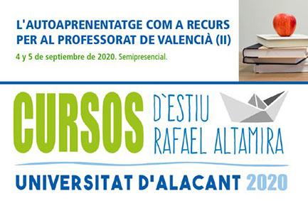 L'autoaprenentatge com a recurs per al professorat de valencià. UA