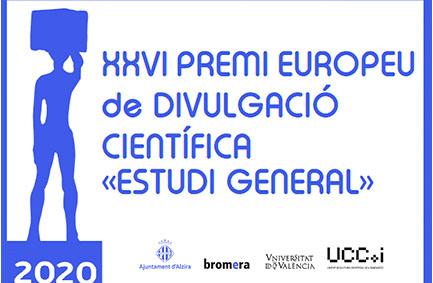 XXVI Premi Europeu de Divulgació Científica Estudi General. UV