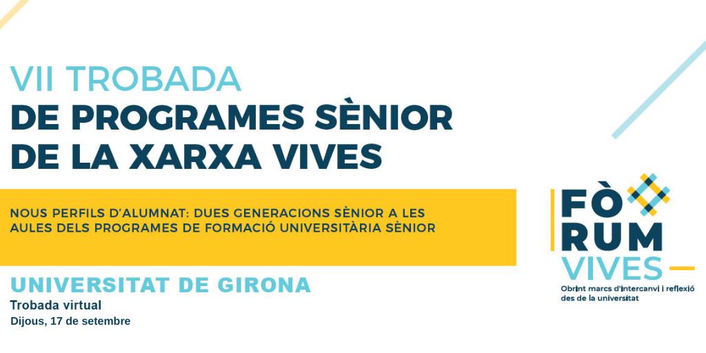 VII Trobada de Programes Sènior de la Xara Vives. Tw