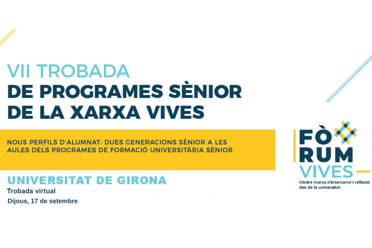 VII Trobada de Programes Sènior de la Xara Vives. NdP