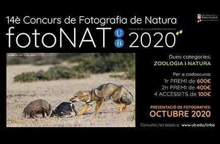 14è Concurs de Fotografia de Natura fotoNAT 2020. UB