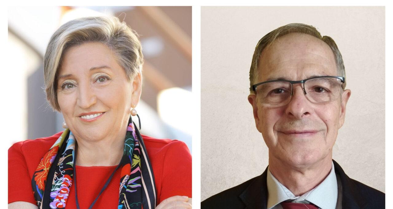 Anna Lluch i Joan Viñas. Medalla d'Honor 2020 de la Xarxa Vives d'Universitats