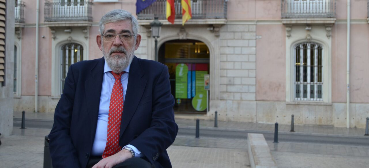 Vicente Navarro de Luján, nou president de la Xarxa Vives d'Universitats_web