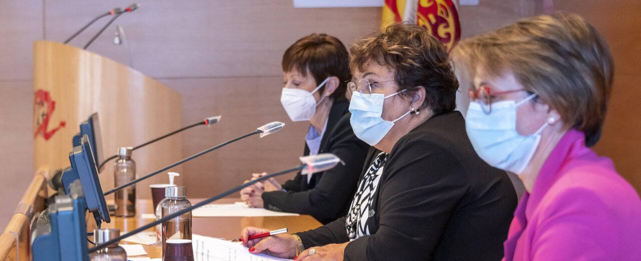 Rectores UV, UJI i URV. Declaració de Tarragona