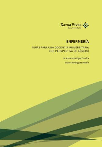 Book Cover: Enfermería: Guía para una docencia universitaria con perspectiva de género
