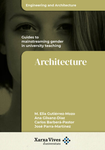 Book Cover: Guide of Architecture to mainstreaming gender in university teaching
