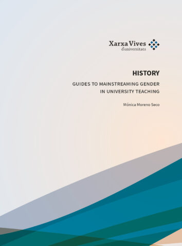 Book Cover: Guide of History to mainstreaming gender in university teaching