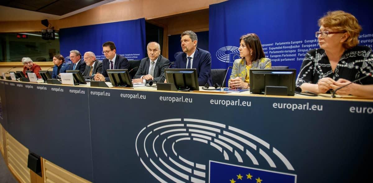 Presentació de la iniciativa Minority Safepack a la Comissió Europea_febrer 2020