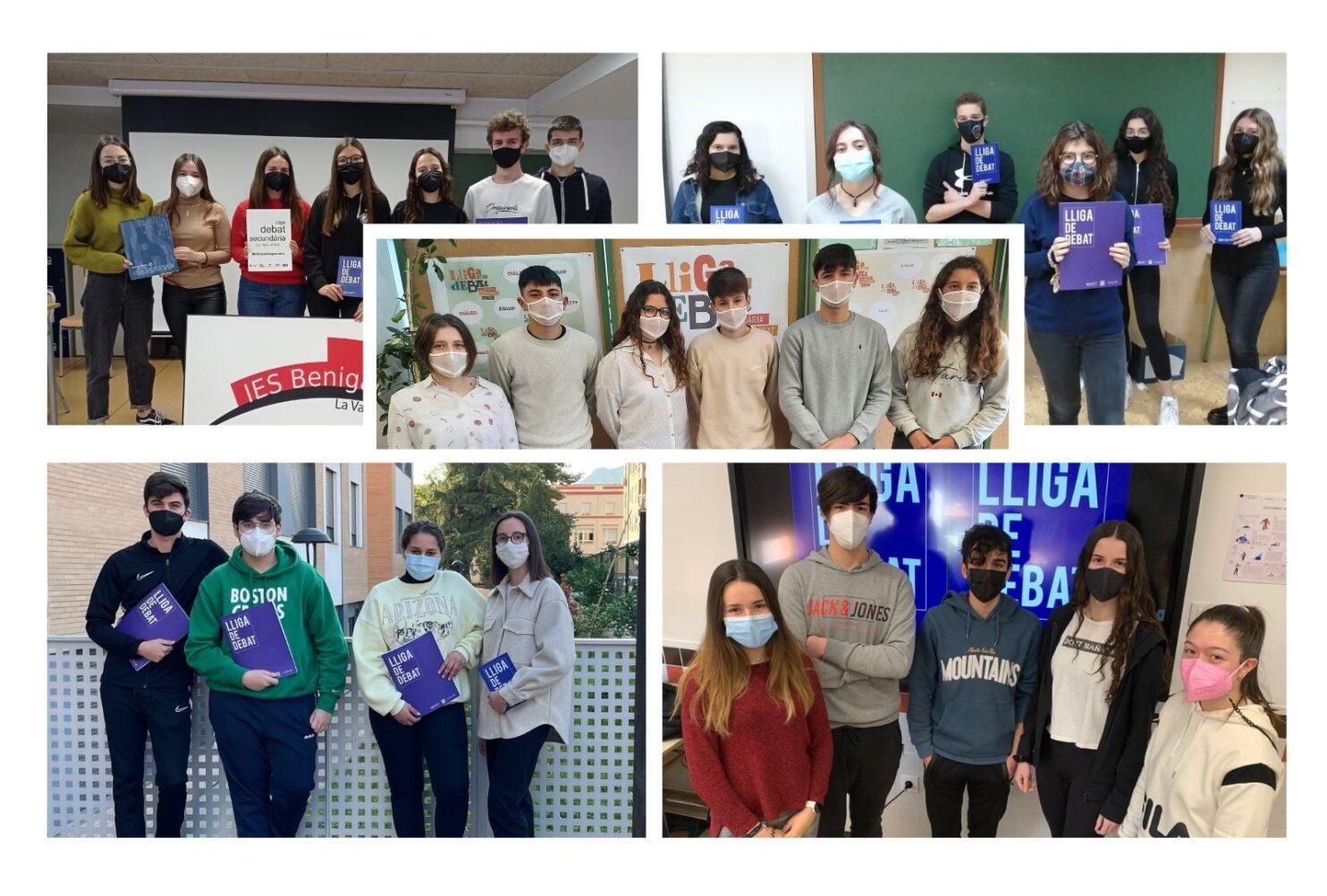 Composició fotos equips fase local Universitat Jaume I