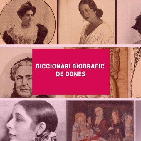Book Cover: Diccionari Biogràfic de Dones