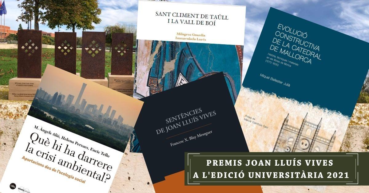 Premis Joan Lluís Vives a l'edició universitària 2021