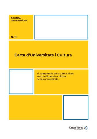 Carta d'Universitats i Cultura