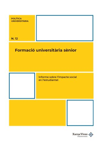 Coberta Informe PU12 sobre l'impacte social en l'estudiantat