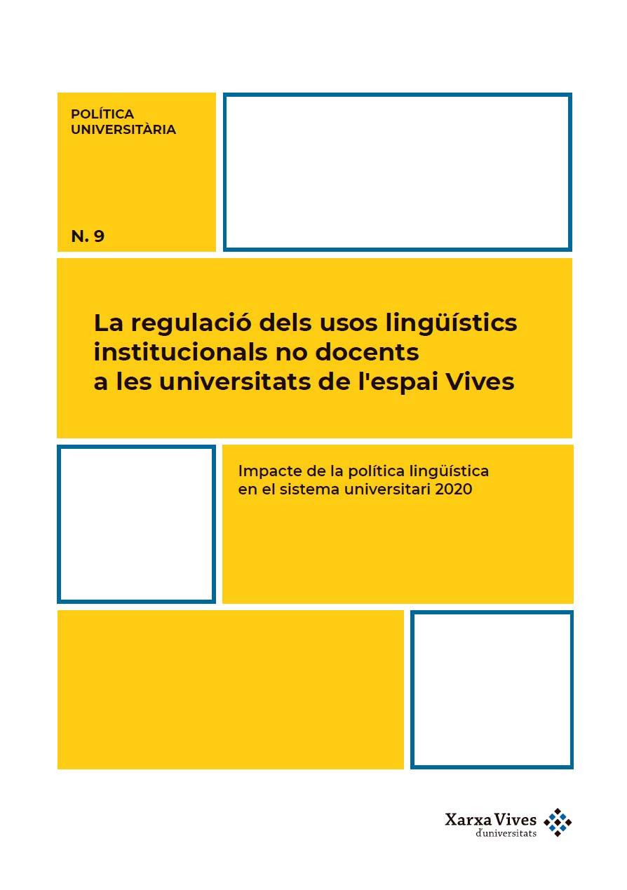 Coberta Informe PU9. Usos lingüístics